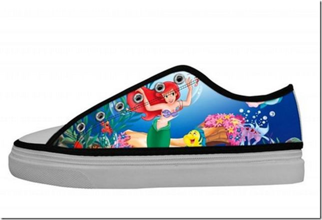 Disney Discovery- The Little Mermaid Canvas Sneakers