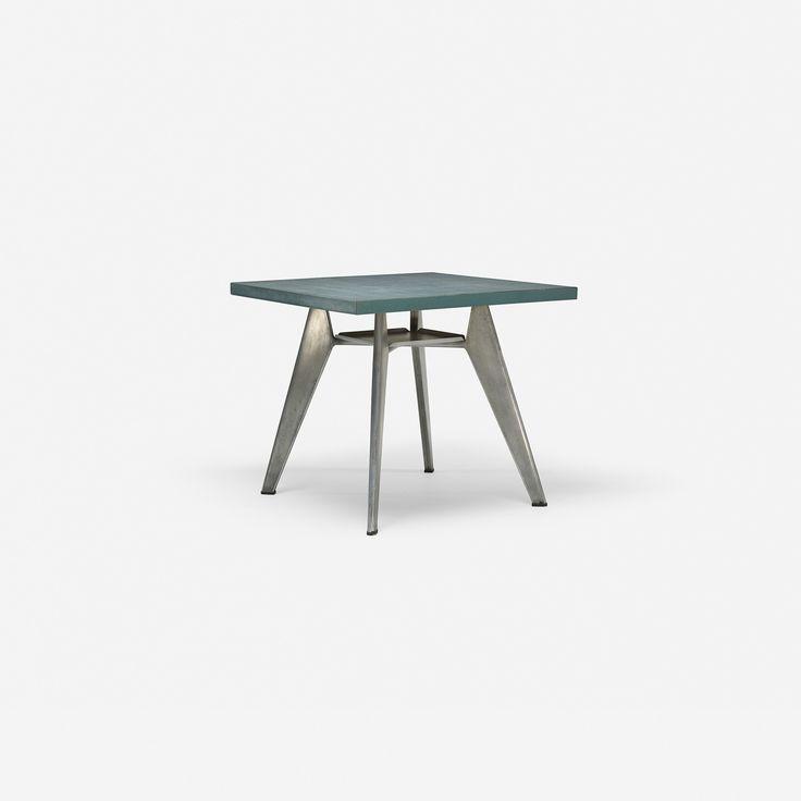 115: Jean Prouvé / Guéridon Cafétéria table, no. 511 < Design, 27 March 2014 < Auctions | Wright