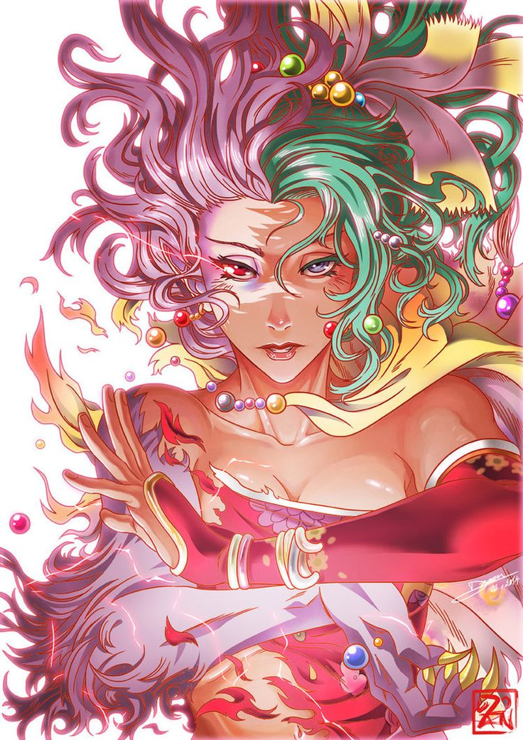 Final Fantasy VI - Terra Branford by Dzoan on deviantART