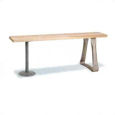 "Penco Locker Room Bench Top Dimensions (W x D x H): 108"" x 9.5"" x 1.25"""