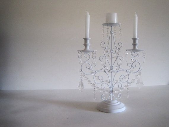 3 Candle Candelabra Or Unity Candle Holder by ShabulousChandeliers