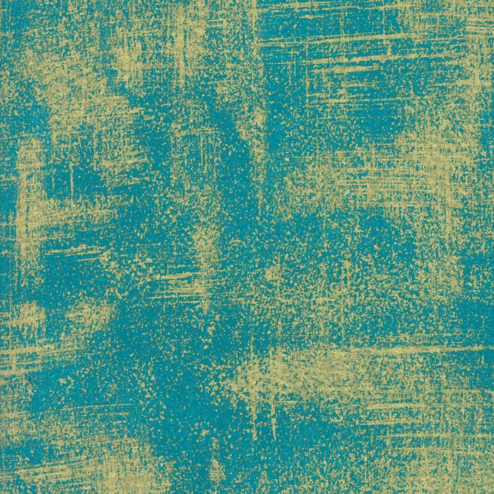 """This blue quilting cotton features a beautiful metallic """"brushstroke"""" print in gold. A simple stroke of gold paint can transform the ordinary into something luxuriously lavish. Combined with other fabrics or used on their own, Luxe Brushstrokes will add an opulent touch to your décor and accessories.   eBay!"""