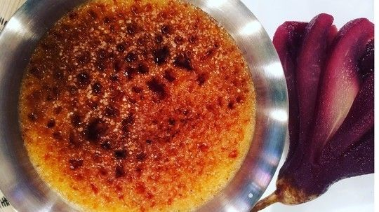 James is back with a mouthwatering taste of France, treating us to his decadent crème brûlée.