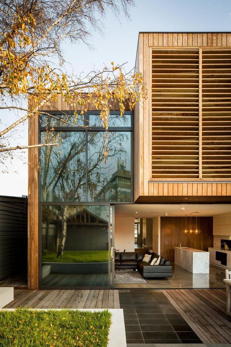 Melbourne Middle Park House Rear Addition exterior deck