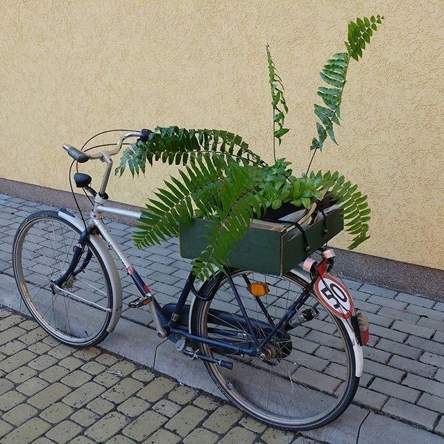 regram @szymonkaftan Prawie jak rower cargo ;) Transport w Lublinie.