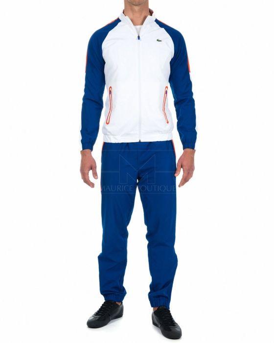 Chandal Lacoste - Azul & Blanco