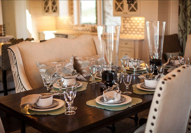 Table Decor Ideas. Table Decor. Elegant yet casual Table decor. #TableDecor  TableDecorIdeas #TableDecorating