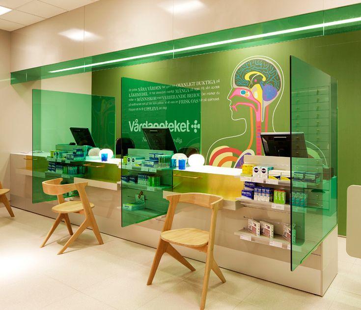 stockholm design lab: vardapoteket identity scheme