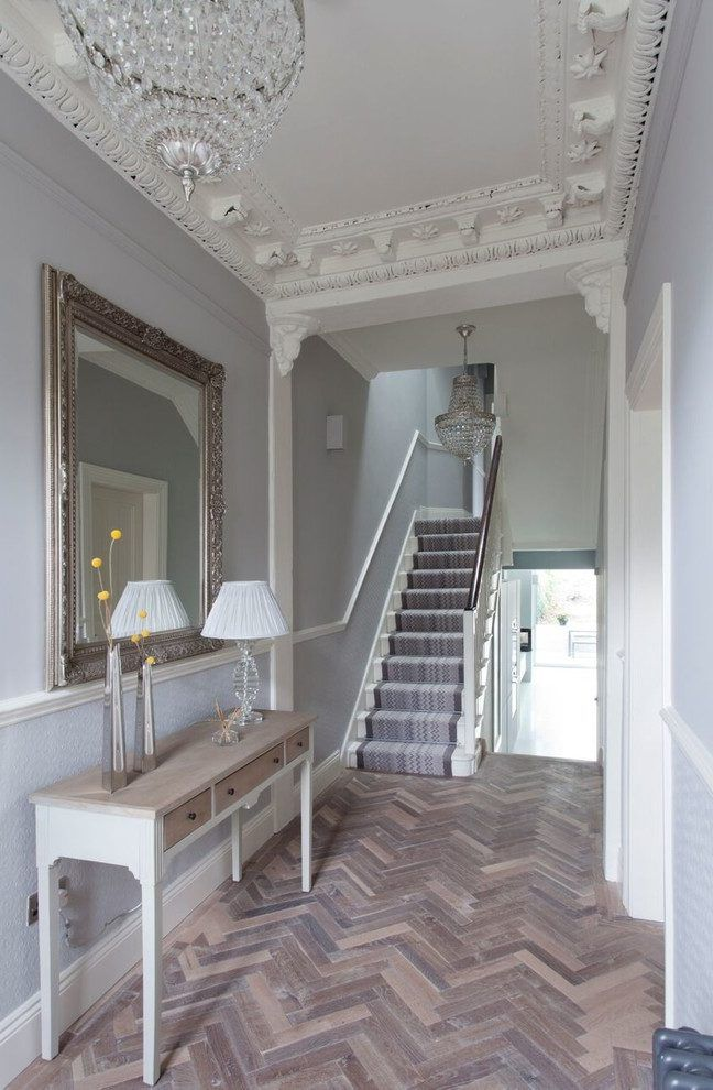 living room wall colours grey leather couch decorating ideas best 25+ victorian hallway on pinterest | hallways ...