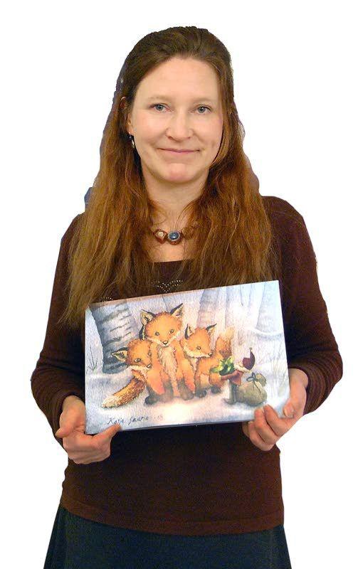 –Islan äiti! Haltiakuusen leikkikoulussa oli maanantaina osalle hyvinkin tuttu vierailija, sillä Katja Saarion lapsi on käynyt Untolassa kerhossa.