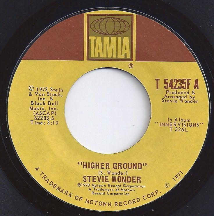 Higher Ground Stevie Wonder 4 On Billboard 1973 45