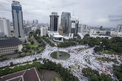 Begini Jalur Aksi Massa 313 Sejak Jumatan Hingga Maghriban Di Istiqlal