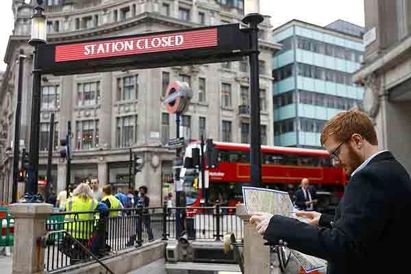 Alte doua zile de greva generala la metroul din Londra la sfarsitul acestei luni