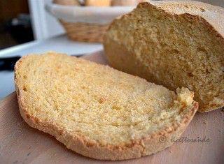 Pane giallo con lievito madre