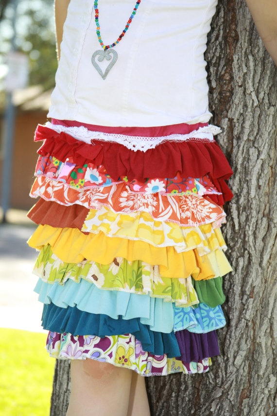 Cutest skirt EVER! Just purchased one for each of my girls!