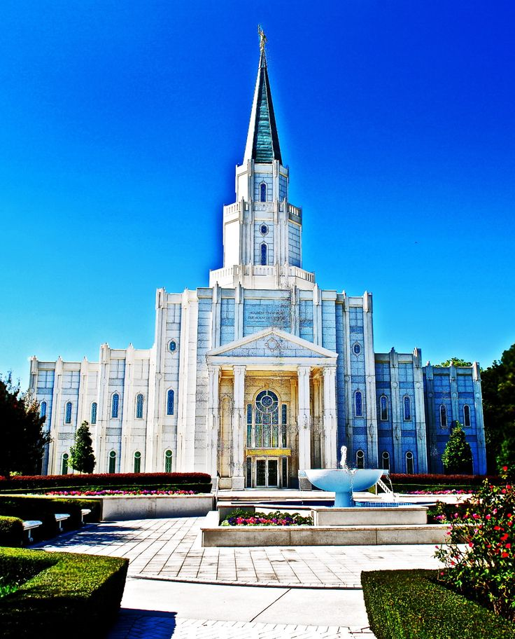 LDS Temple-Houston Texas One of my favorites - hope to visit one day.