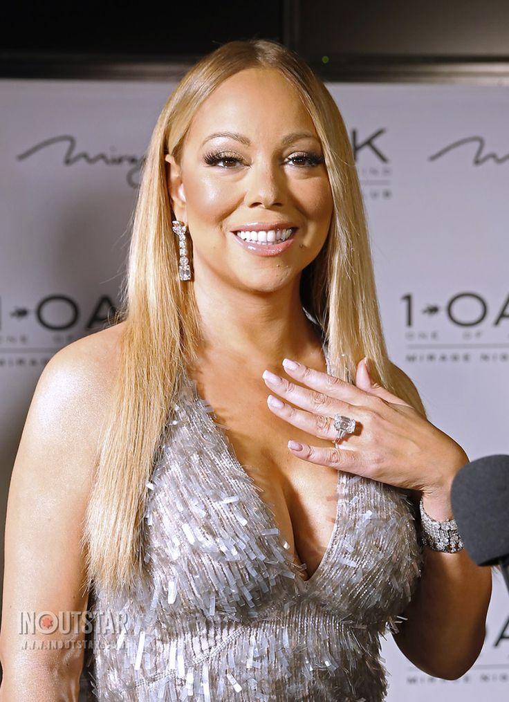 Anel de diamantes da Mariah Carey avaliado em 7 milhões de dólares (Créditos: Judy Eddy / WENN.com)