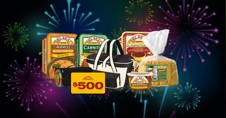What product would you like Del Real Foods to make?  Tell them during their New Years Giveaway and be entered to win a $500 CASH PRIZE!