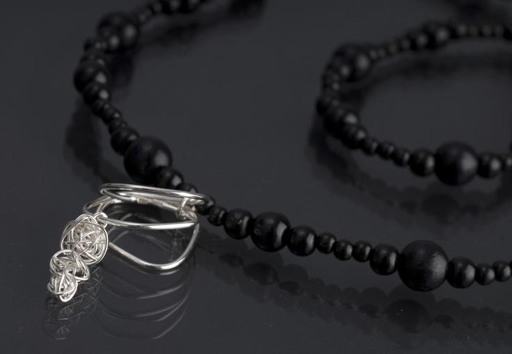 Hurmo necklace by jewellery designer Tytti Lindström