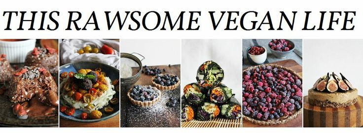 This Rawsome Vegan Life: RECIPES I am not following a raw diet, but the recipes make a healthy addition to a whole foods diet.