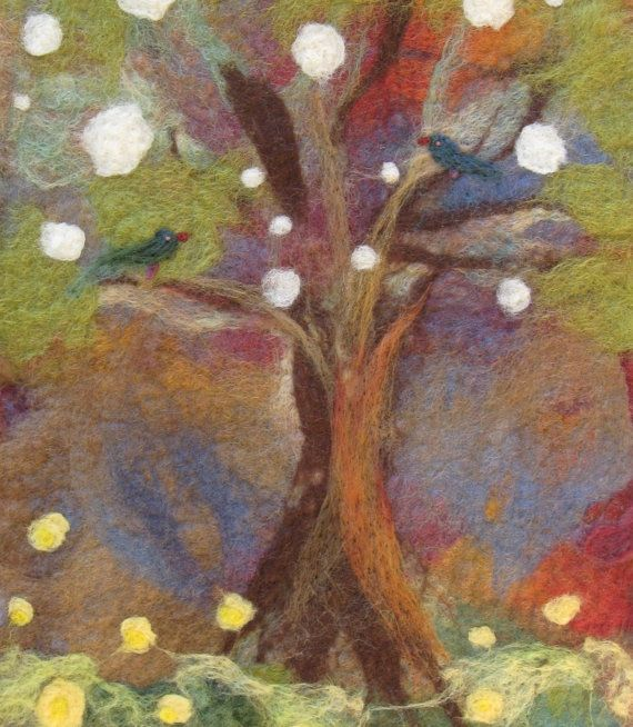1000 Images About Felt Wall Hanging On Pinterest Wool