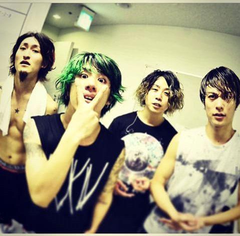 One Ok Rock, Taka, Toru, Tomo and Ryota.