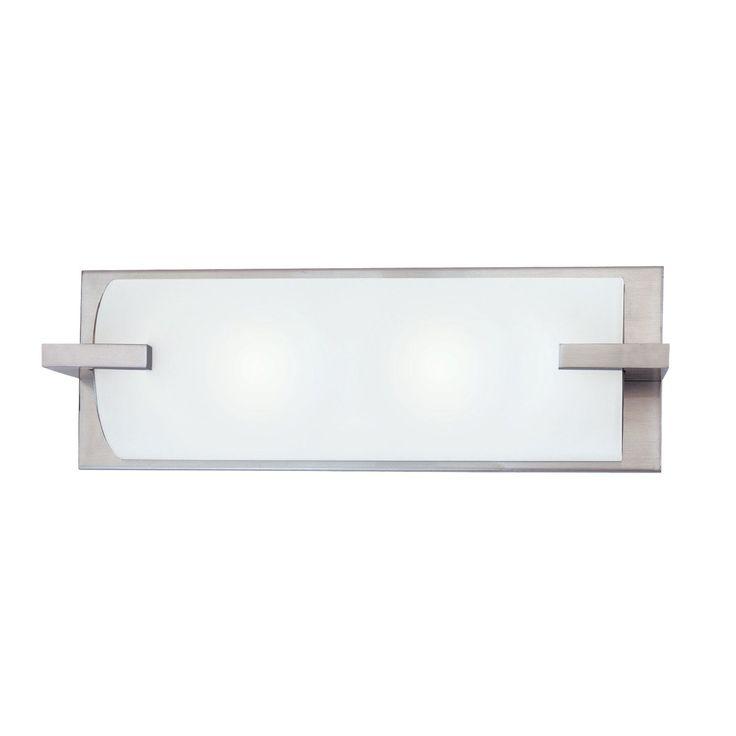 Sonneman 3793 2 Light Edge Bathroom Light - Lighting Universe