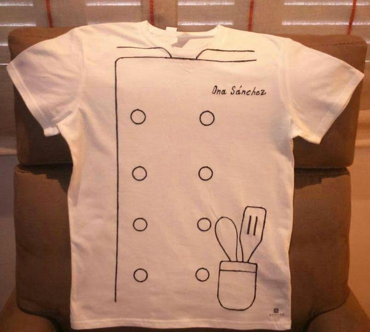Disfraz Diy de Chef, Manolo Sánchez, Barcelona ~ THE WORLD KATS