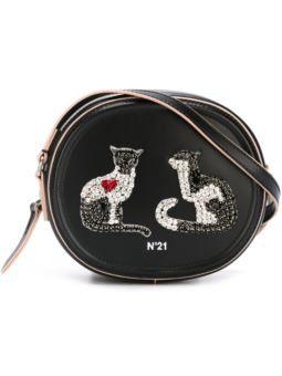 украшено кошка Кроссбоди сумка