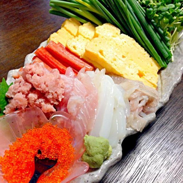 夕食作る時間無くて(⌒-⌒; )手抜き - 72件のもぐもぐ - 手抜き寿司 by fuucandy804