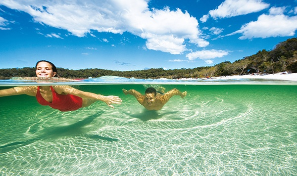 Fraser Island, Fraser Coast, Queensland, Australia. #FraserCoast #Queensland #Australia #Travel
