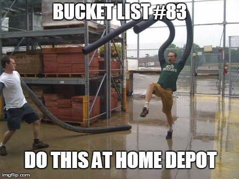 Bucket list ideas funny