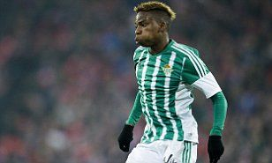 Charly Musonda set to stay on loan at Real Betis as Chelsea youngster holds new talks...