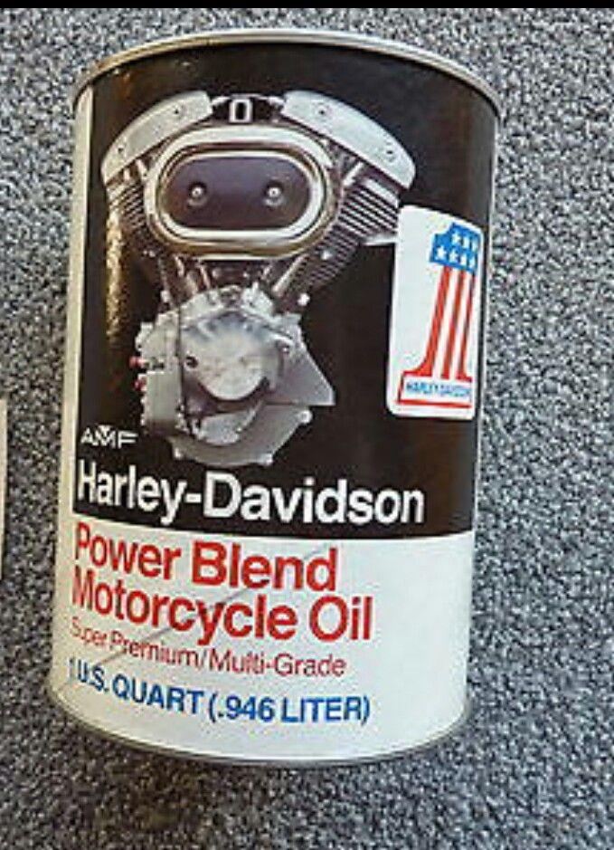 Amf Harley Davidson Power Blend Motorcycle Oil