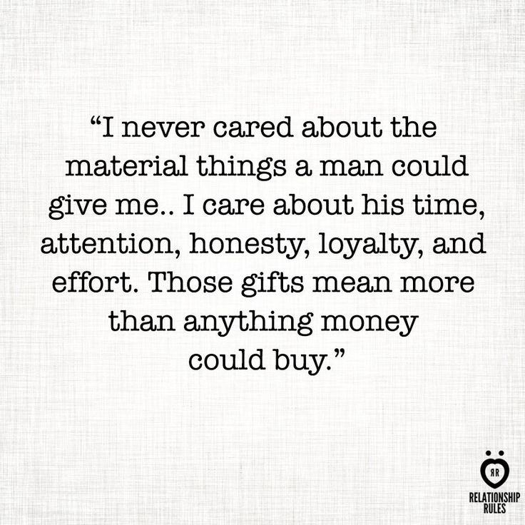 Having nice things is nice but I'd rather have a loving husband who is a great father and role model.