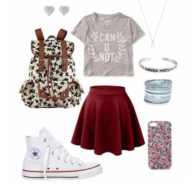 outfits to wear for school-#outfits #school-#Genel – Living room decor