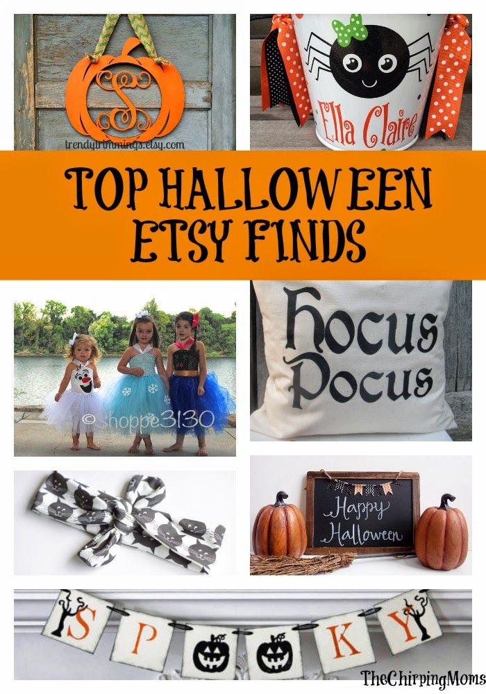 Top Halloween Etsy Finds : The Chirping Moms