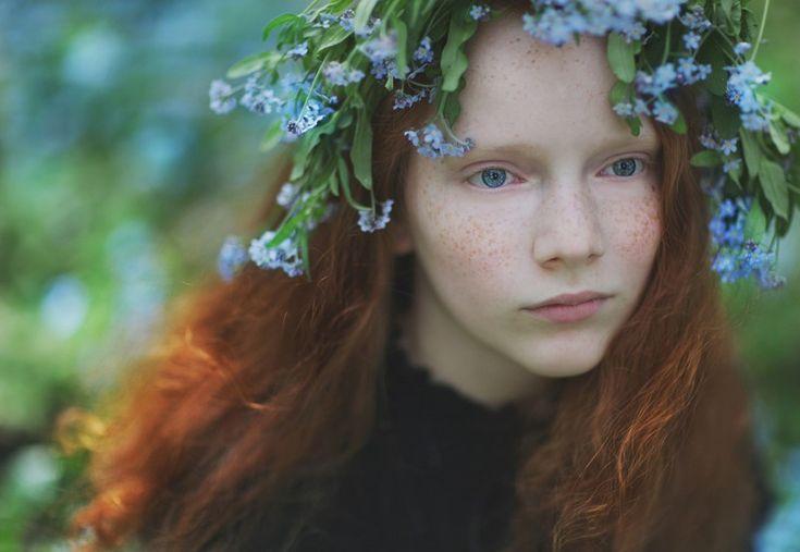 «12 месяцев её жизни» – душевный фотопроект Lena Kap (13фото) » Картины, художники, фотографы на Nevsepic