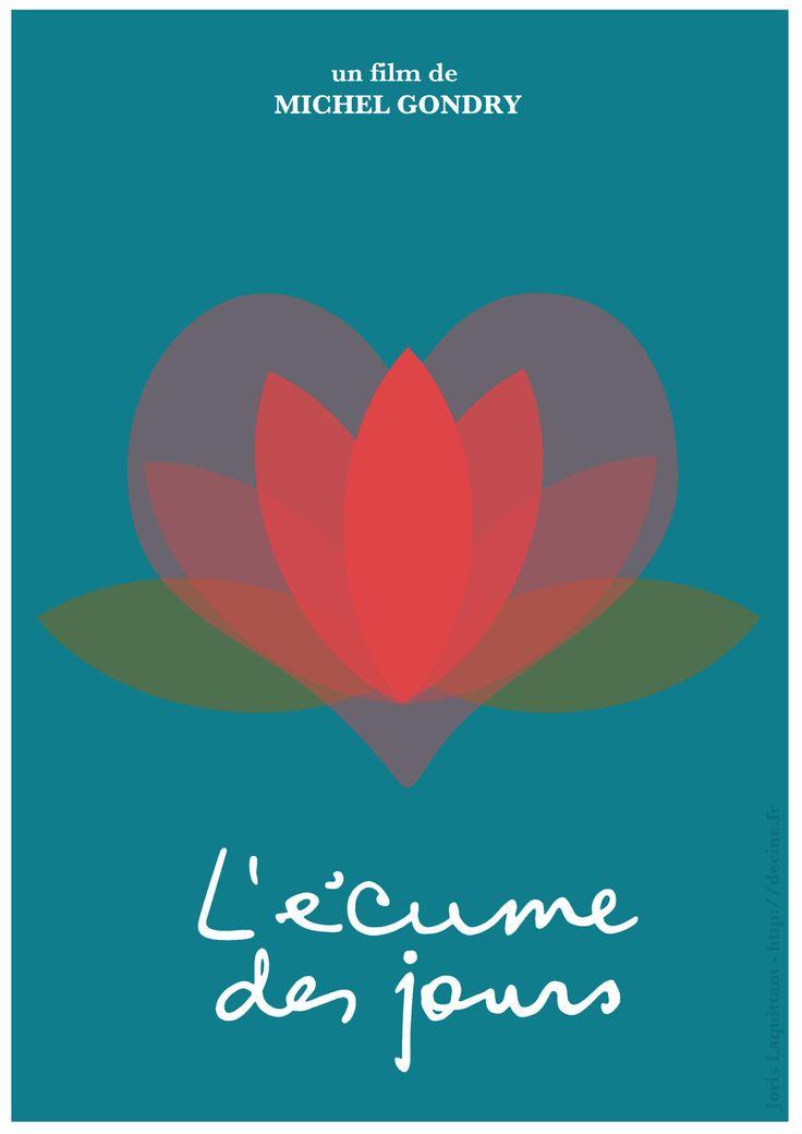 L 39 cume des jours mood indigo 2013 minimal movie poster by joris laquittant - L ecume des jour film ...