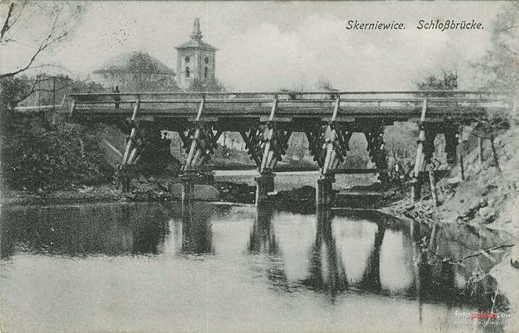 Most, Skierniewice - 1912 rok, stare zdjęcia
