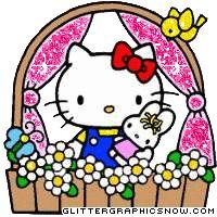 Hello Kitty Glitter Wallpaper   Hello Kitty Glitter Animated Gifs