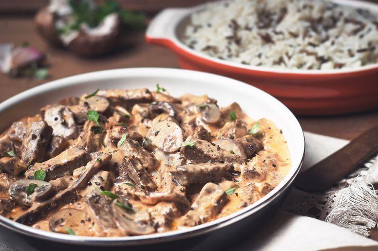 Quorn Meatless Beef & Mushroom Stroganoff