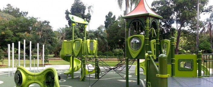 Brisbane City Botanic Gardens Playground