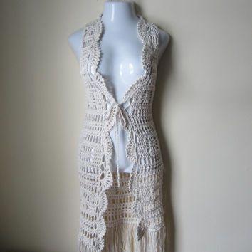 Free Crochet Patterns For Long Vests : 17 Best ideas about Crochet Vest Pattern on Pinterest ...