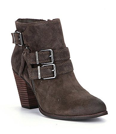 Gianni Bini Westonn Booties #Dillards To my stylist- I love these boots.  They