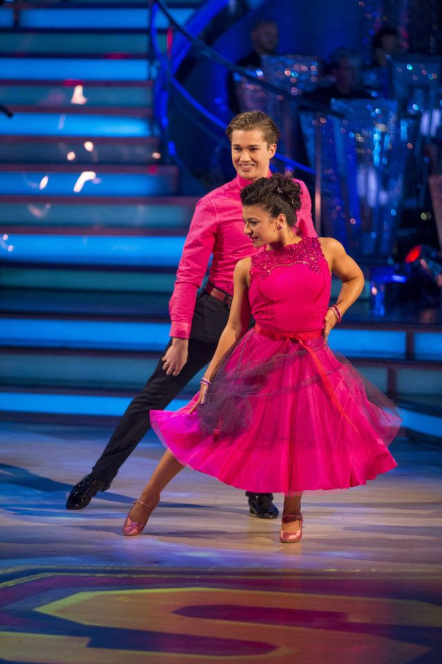 Image result for Strictly 2016 week 4 claudia