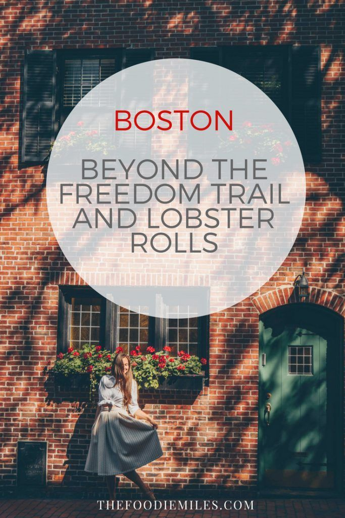 Two-days-guide to Boston for those who have already explored the Freedom trail and wants to see what else Boston has to offer! Click on pin to get suggestions for the best things to do and delicious foods to try in Boston!