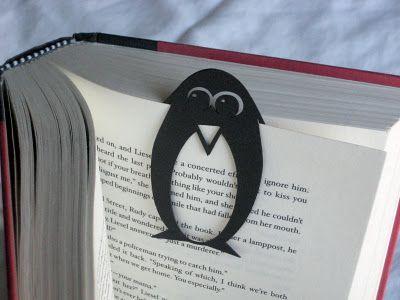 #boekenlegger #pinguin #vormgeving #boeken