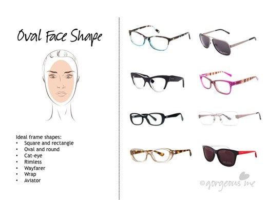 Eyeglass Frames For An Oval Face : Best 25+ Oval face shapes ideas on Pinterest