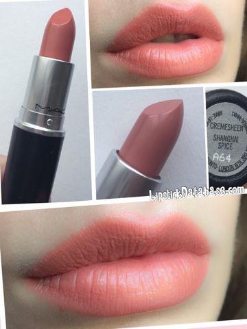 The Lipstick Database: MAC - Cremesheen in Shanghai Spice